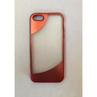 Силиконов калъф за iPhone 5 /5s / SE с лайсна