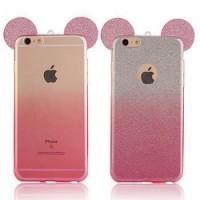 Силиконов калъф за Iphone 5/5s/SE розови уши
