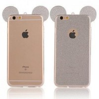 Силиконов калъф за Iphone 5/5s/SE сиви уши