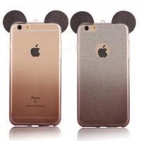Силиконов калъф за Iphone 5/5s/SE черни уши