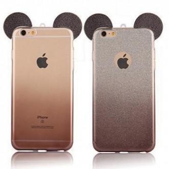 Силиконов калъф за Iphone 6/6s черни уши