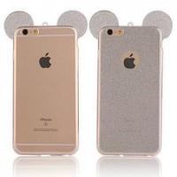 Силиконов калъф за Iphone 6/6s сиви уши