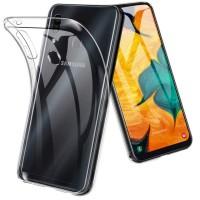 Силиконов калъф за Samsung A20s, 0.5mm прозрачен
