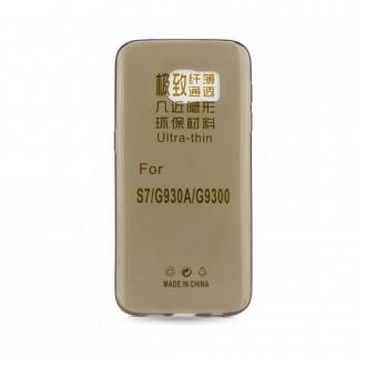 Силиконов калъф за Samsung G930 Galaxy S7 0.3mm тъмен
