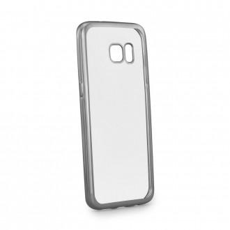 Силиконов калъф за Samsung G935 Galaxy S7 Edge с лайсна графит