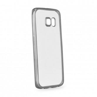 Силиконов калъф за Samsung Galaxy S6 с лайсна графит