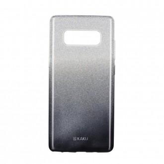 Силиконов калъф за Samsung Note 8 кейс с брокат