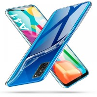Силиконов калъф кейс TECH-PROTECT FLEXAIR за Samsung A41 ,прозрачен