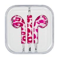Слушаки Apple Headset iPhone 3.5mm ,розови