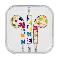 Слушаки Apple Headset  iPhone FLOWER 3.5mm Китай