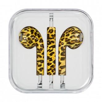 Слушаки Apple Headset iPhone леопард 3.5mm