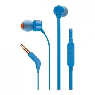 Слушалки JBL T110 ,сини