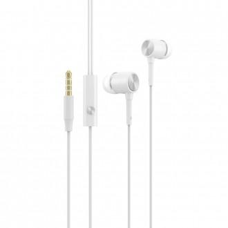 Слушалки с микрофон Devia Cool Sound Series, бели