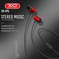 Слушалки с микрофон XO-EP5 червени