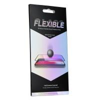 Стъклен Нано протектор за целият екран Flexible Nano Glass 5D Full Glue за Huawei P20 черен
