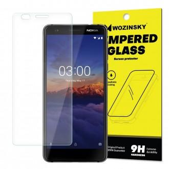 Стъклен протектор за дисплея Wozinsky, твърдост 9H, за Nokia 3.1