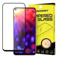 Стъклен протектор за целия екаран Wozinsky Full Glue с черна рамка за Huawei Honor 20 , Honor 20 Pro