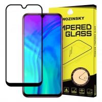 Стъклен протектор за целия екаран Wozinsky Full Glue с черна рамка за Huawei Honor 20 Lite