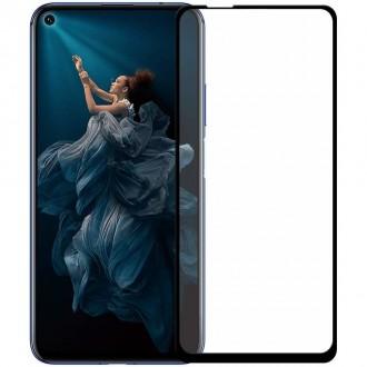 Стъклен протектор за целия екран за Huawei Nova 5T , 5D черен