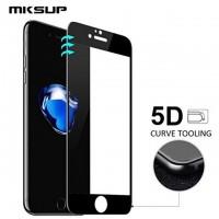 Стъклен протектор за целият екран за iPhone 8 5D