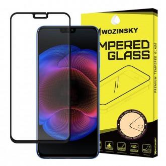 Стъклен протектор за целият екран Wozinsky Full Glue за Huawei Honor 8X ,черна рамка