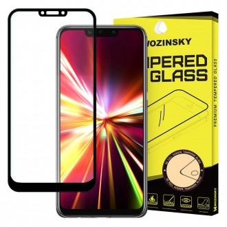 Стъклен протектор за целият екран 5D Wozinsky Full Glue за Huawei Mate 20 Lite ,черена рамка