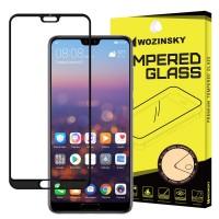 Стъклен протектор за целият екран 5D Wozinsky Full Glue за Huawei P20 Pro ,черена рамка