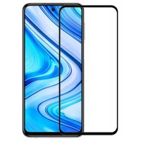 Стъклен протектор за целият екран 5D за Huawei P Smart 2021, черна рамка