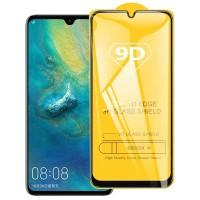 Стъклен протектор за целият екран 9D за Huawei Y5 2018, черна рамка