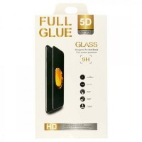 Стъклен протектор за целият екран Full Glue 5D за iPhone 6 / 6S черен