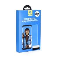 Стъклен протектор за целият екран Mr. Monkey (Full AB Glue) за Samsung S9 Plus