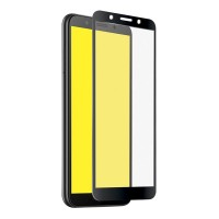 Стъклен протектор за целият екран Smart Glass 5D за Huawei Y5 2018 черен