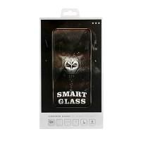 Стъклен протектор за целият екран Smart Glass 5D за iPhone 7 / iPhone 8 черен