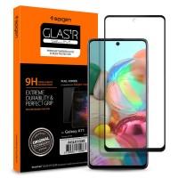 Стъклен протектор за целият екран SPIGEN GLASS FC за Samsung A71