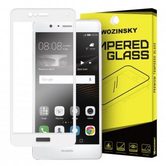 Стъклен протектор за целият екран Wozinsky за Huawei P9 Lite, бяла рамка