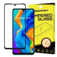 Стъклен протектор за целият екран Wozinsky Full Glue за Huawei P30 Lite ,черна рамка