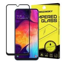 Стъклен протектор за целият екран Wozinsky Full Glue за Samsung A40 ,черна рамка