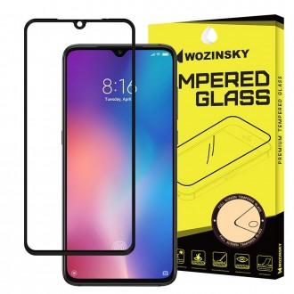 Стъклен протектор за целият екран Wozinsky Full Glue за Xiaomi Mi 9 ,черена рамка