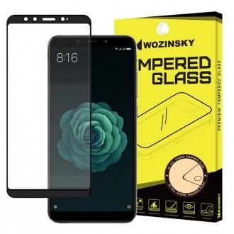 Стъклен протектор за целият екран Wozinsky Full Glue за Xiaomi Mi A2 ,черна рамка