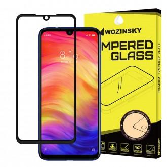 Стъклен протектор за целият екран Wozinsky Full Glue за Xiaomi Redmi Note 7 ,черна рамка