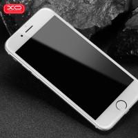 Стъклен протектор за целият екран XO Design FC1 Invisible за iPhone 8 / iPhone 7 бял