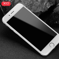 Стъклен протектор за целият екран XO Design FC1 Invisible за iPhone 8 Plus / iPhone 7 Plus бял