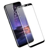 Стъклен протектор за целият екран XO Design FD1 3D за Samsung Galaxy S9 черен