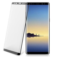 Стъклен протектор за целият екран XO Design FD1 3D за Samsung Note 8 черен