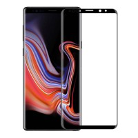 Стъклен протектор за целият екран XO Design FD1 3D за Samsung Note 9 черен