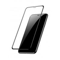 Стъклен протектор за целият екран XO FC5 Invisible 2.5D за iPhone XS Max / iPhone11 Pro Max черен