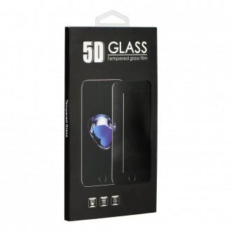 Стъклен протектор за целият екран за Huawei Mate 20 Lite 5D Full Glue черен