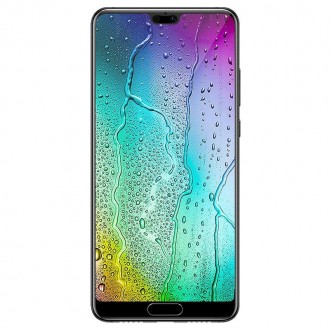 Стъклен протектор за целият екран за Huawei P20 Pro прозрачен 5D