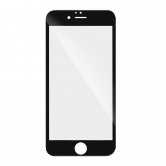 Стъклен протектор за целият екран за iPhone XS Max черен 5D