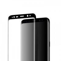 Стъклен протектор за целият екран за Samsung G955 S8 HOCO черен